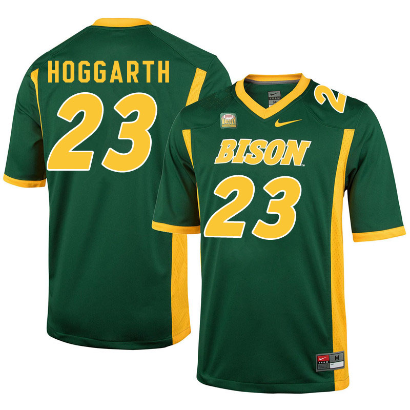 Men #23 Ben Hoggarth North Dakota State Bison College Football Jerseys Sale-Green
