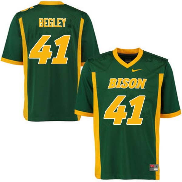 Men #41 Jack Begley North Dakota State Bison College Football Jerseys Sale-Green