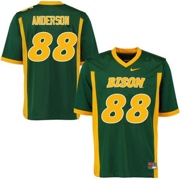 Men #88 Matt Anderson North Dakota State Bison College Football Jerseys Sale-Green