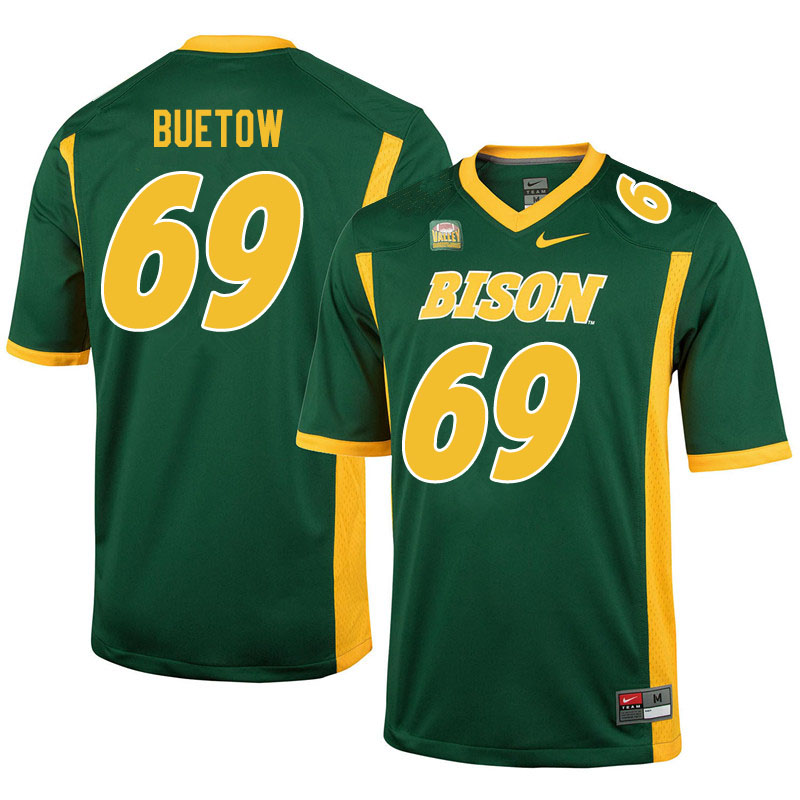 Men #69 Michael Buetow North Dakota State Bison College Football Jerseys Sale-Green