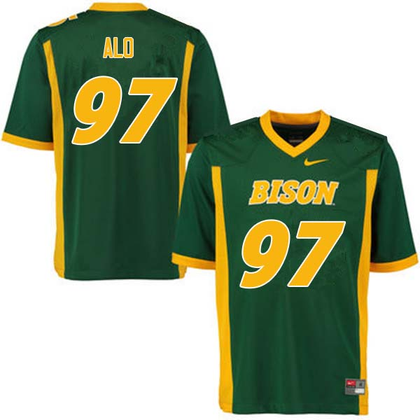 Men #97 Quinn Alo North Dakota State Bison College Football Jerseys Sale-Green